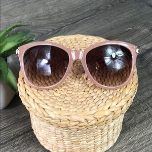 Sunglasses Pink Gold Jones New York